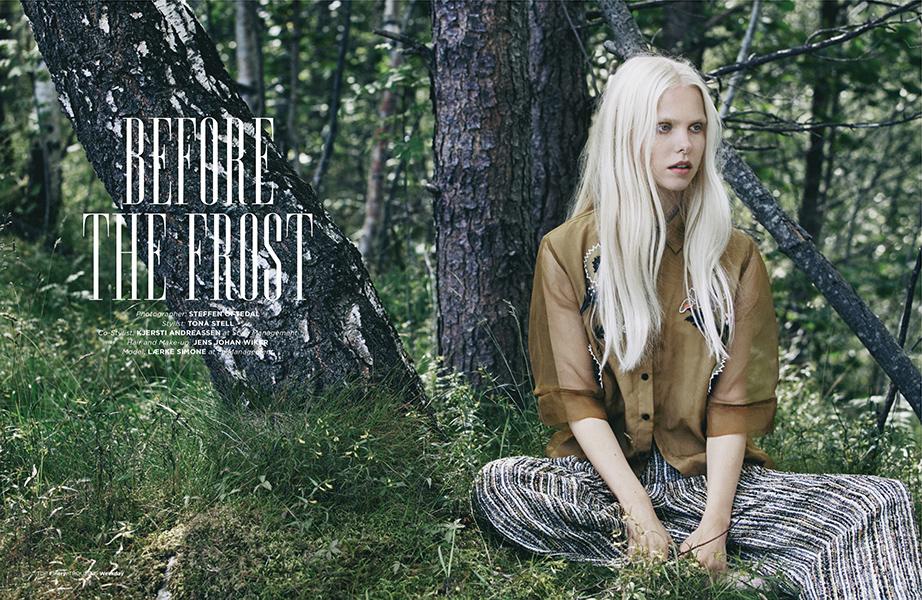 Suitcase magazine, hardangerfjorden, l�rke simone, mote, fashion, oftedal, oslo