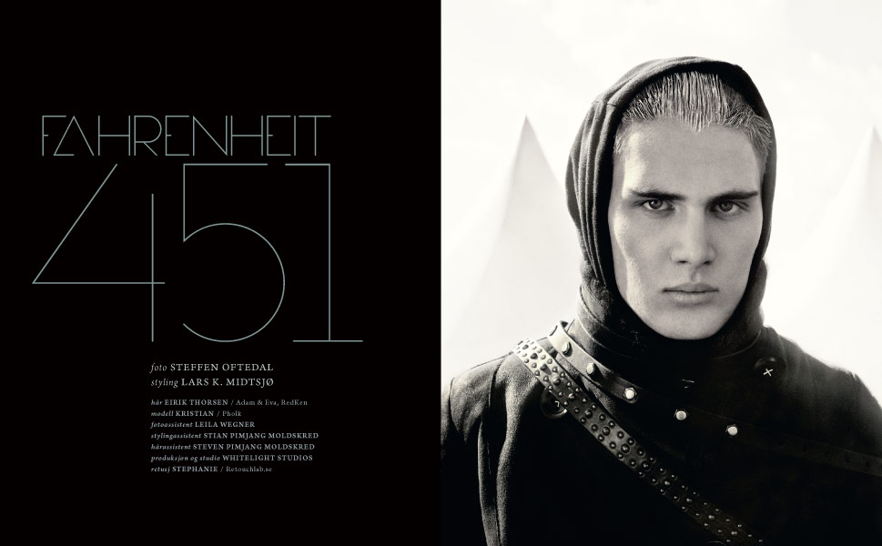 steffen oftedal, fashion photographer oslo Personae magazine